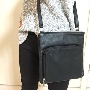 Leather Satchel (brand new / never worn)